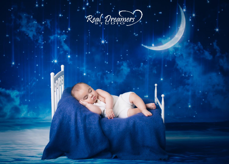 Servizio Fotografico Bebè - Dorme luna