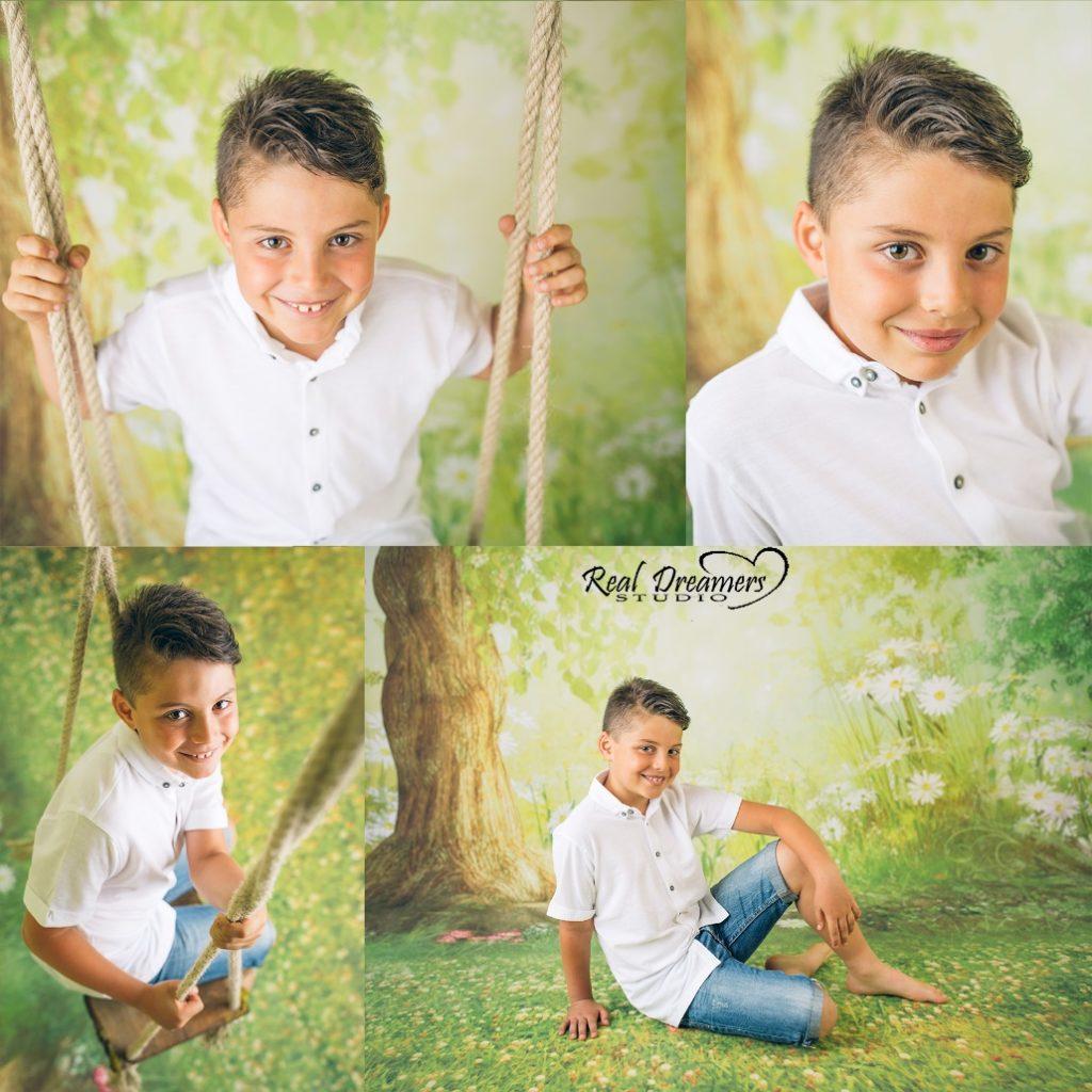 Servizio Fotografico Bambini - collage