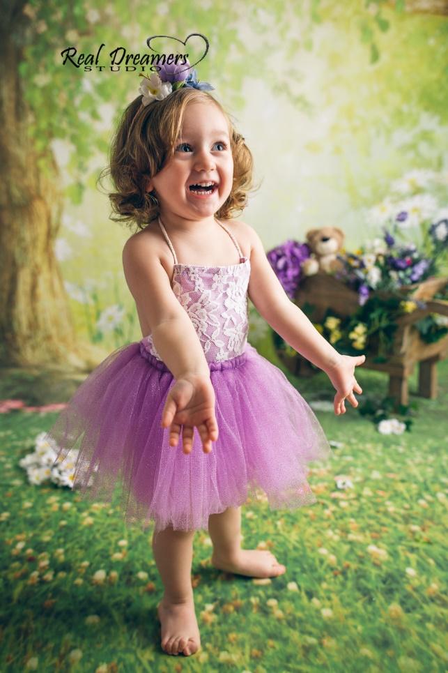 Servizio Fotografico Bambini - tutu rosa