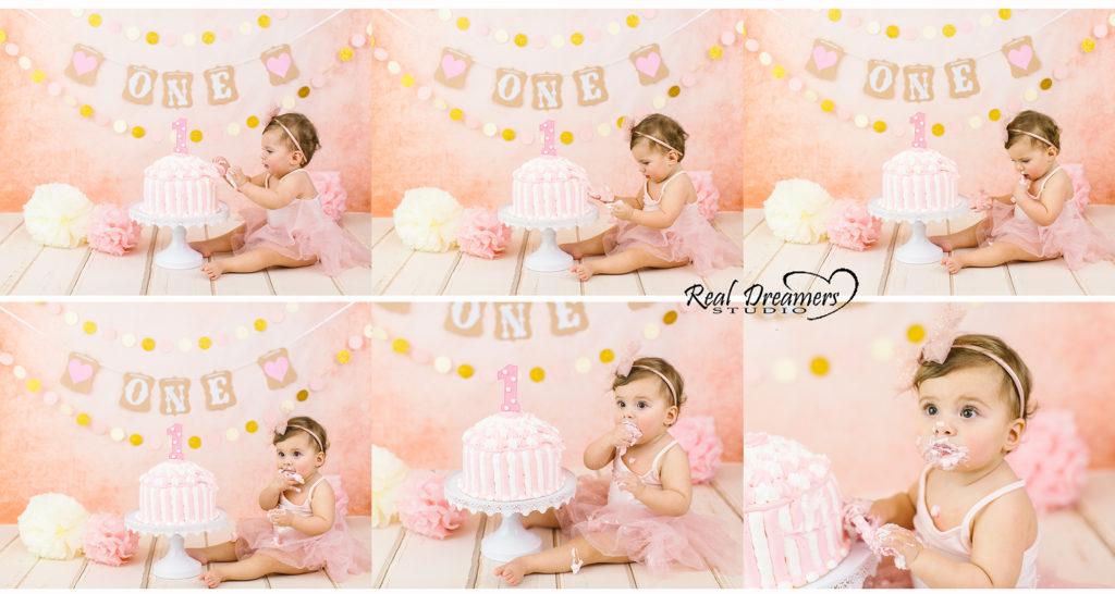 Smash Cake Servizio Fotografico - collage