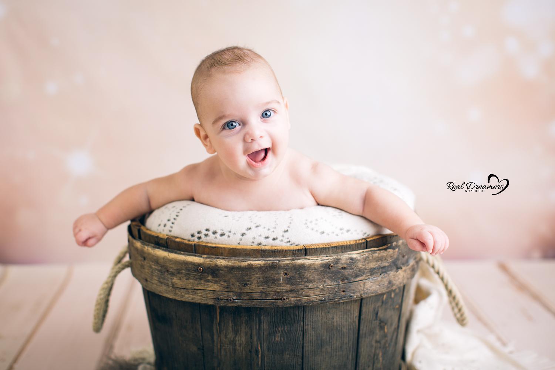 Servizio Fotografico Bebè tinozza