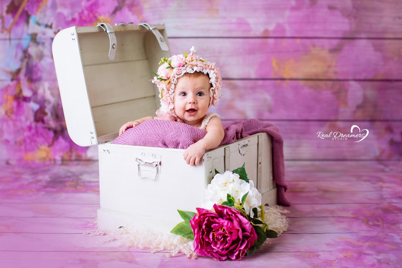 Servizio Fotografico bebè baule