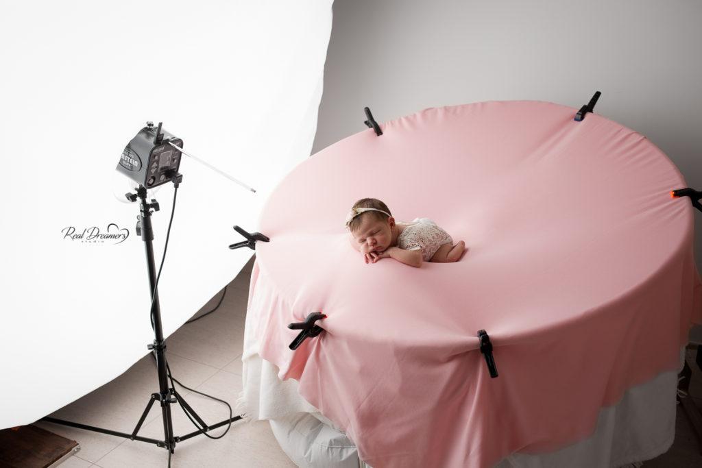 set fotografico neonati beanbag