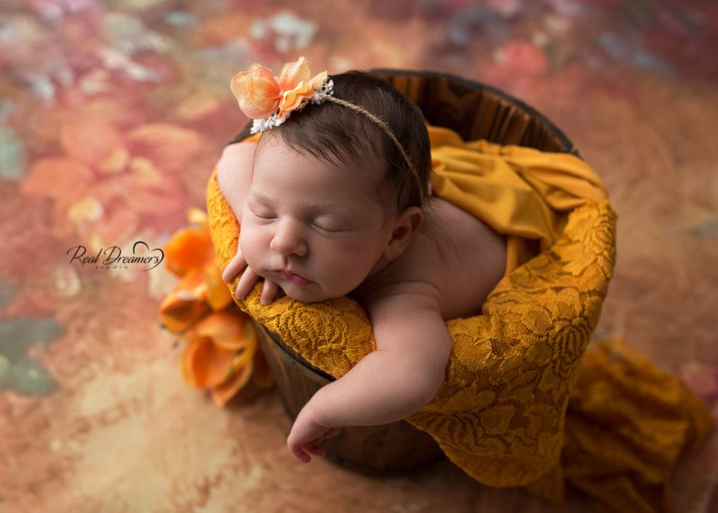 servizio fotografico neonata - newborn