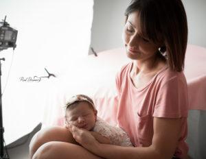 Set Fotografico Neonati: scopri il backstage di un servizio newborn