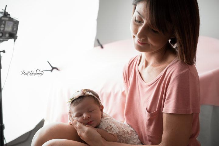set fotografico neonati con Anna Lisa