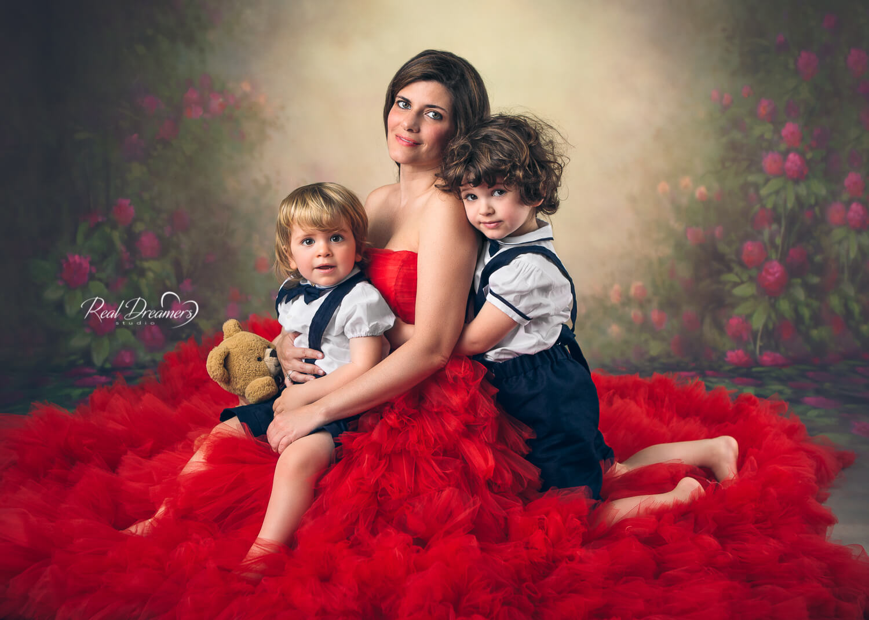 Servizio Fotografico Famiglia - mamma e bimbi