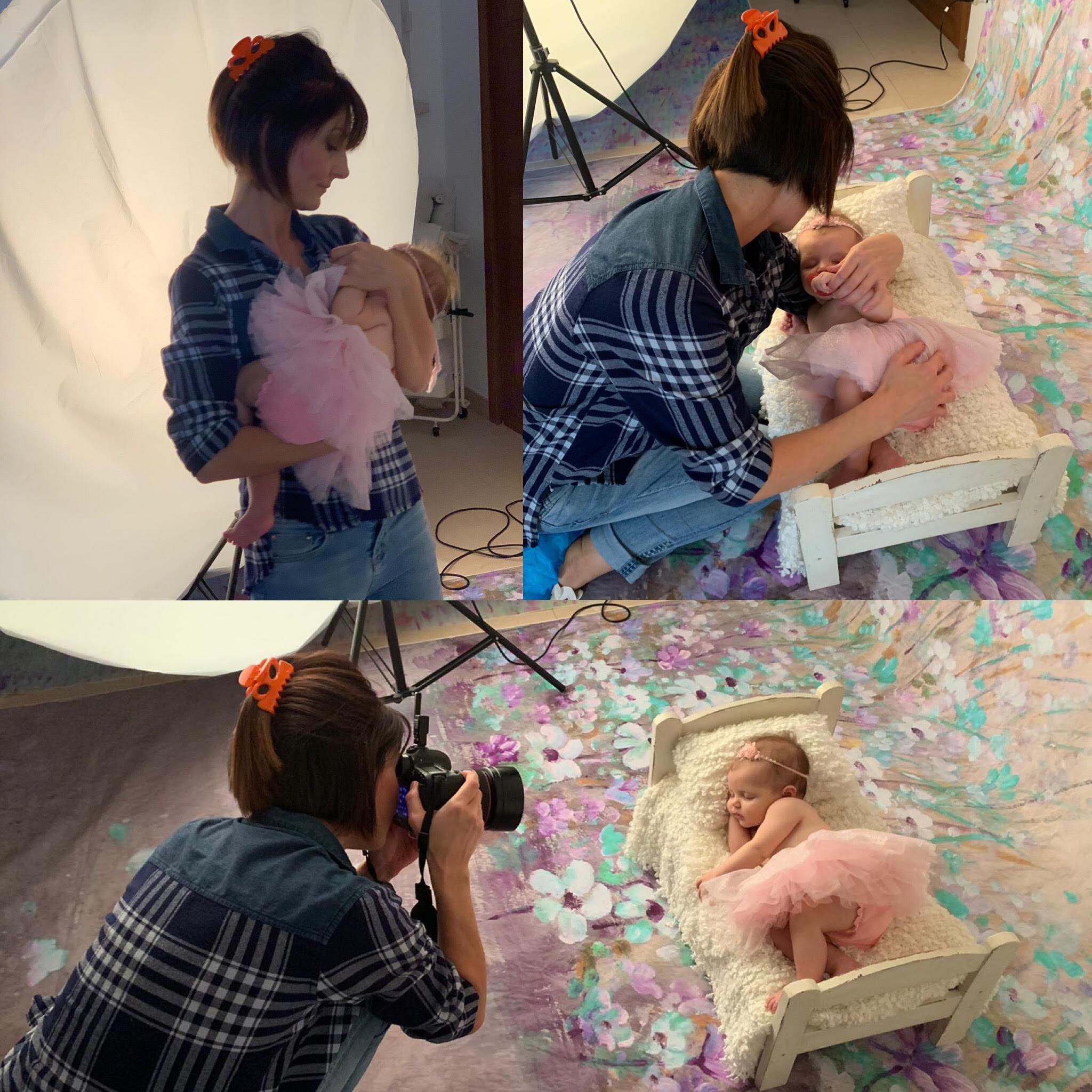 Anna Lisa Di Vaio - Real Dreamers Studio - Servizio - Fotografico Bambina - lettino