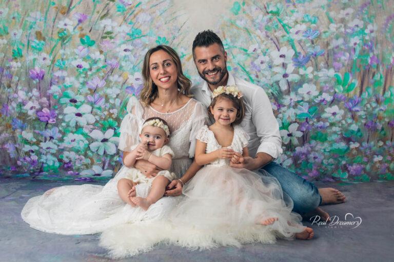 Fotografia di famiglia: quando il maggiore dei figli ha 2 anni!