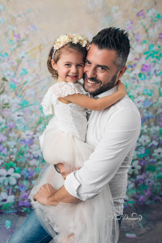 Real Dreamers Studio - fotografia -papà - figlia