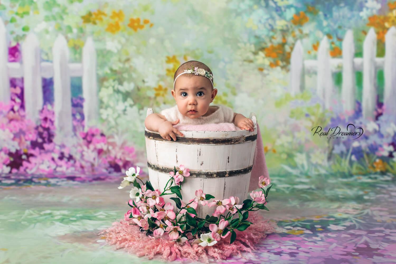 Real Dreamers Studio - servizio - fotografico - bambina - fiori - Latina