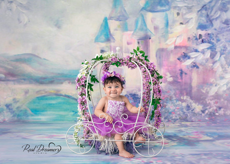 Real Dreamers Studio - Servizio fotografico bambina - carrozza cenerentola