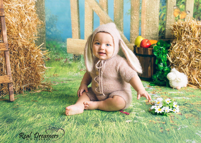 Servizio Fotografico Bambini - coniglietto